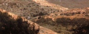 Das Tal Gehenna bei Jerusalem